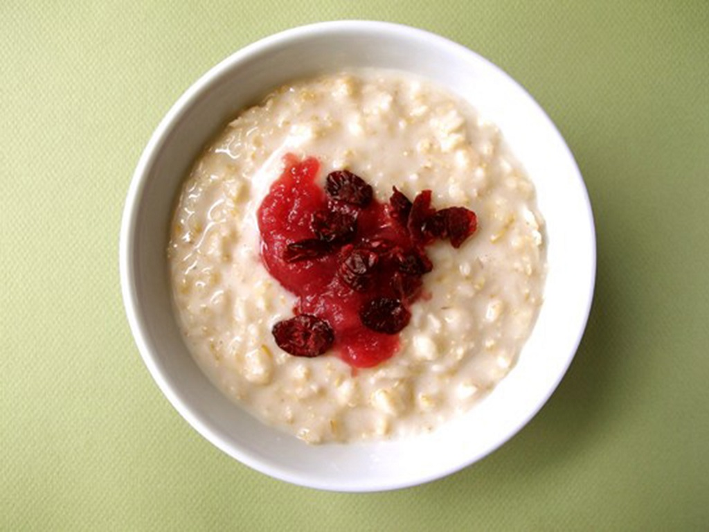 Riz au lait & confit de fruits rouges