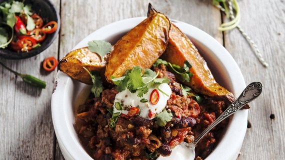 Chili con carne aux patates douces